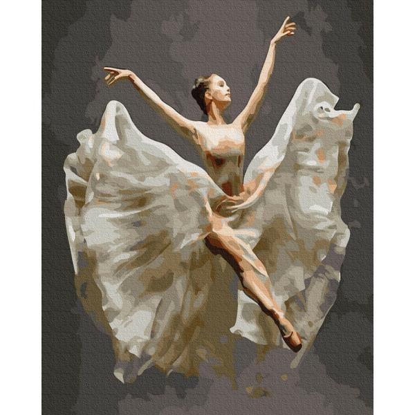 Картина по номерам Люди на картинах - Балерина в полете