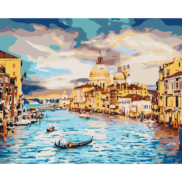 Картина по номерам Города - Небесна Венеція