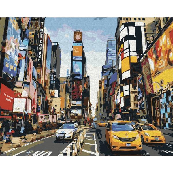 Картина по номерам Города - Життя Таймс-сквер