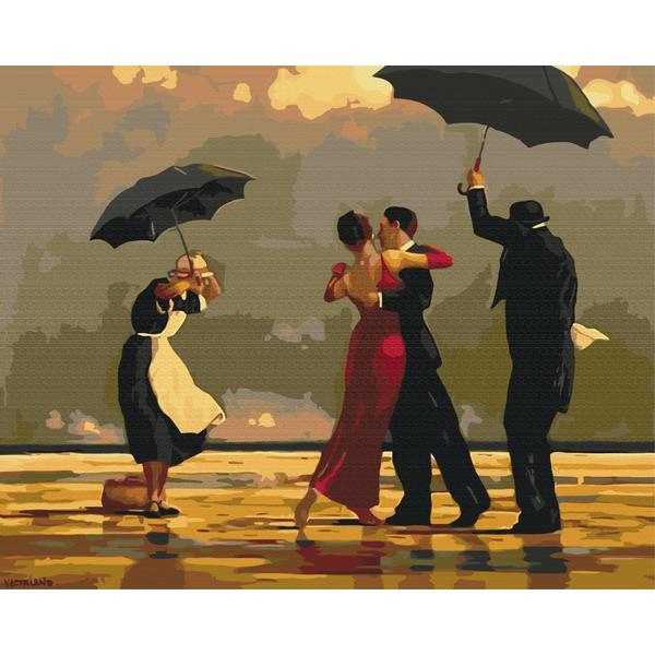 Картина по номерам Репродукции художников - Аристократическое танго