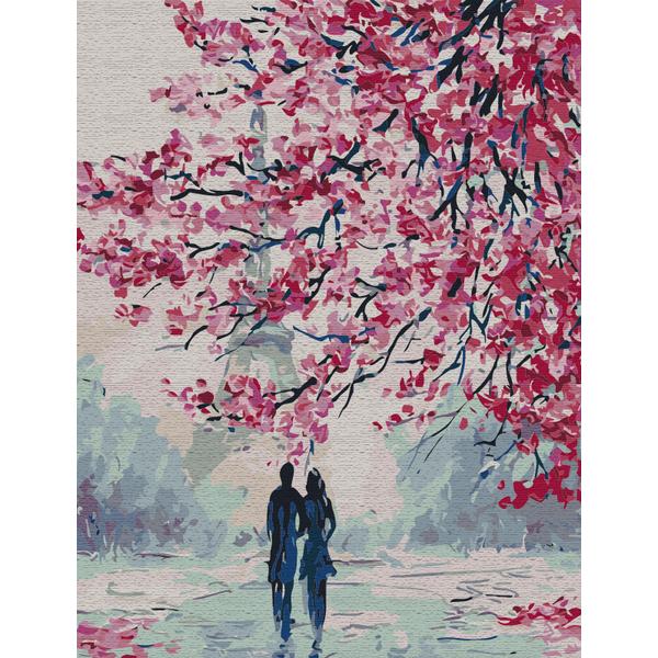 Картина по номерам Романтика - Романтическая прогулка