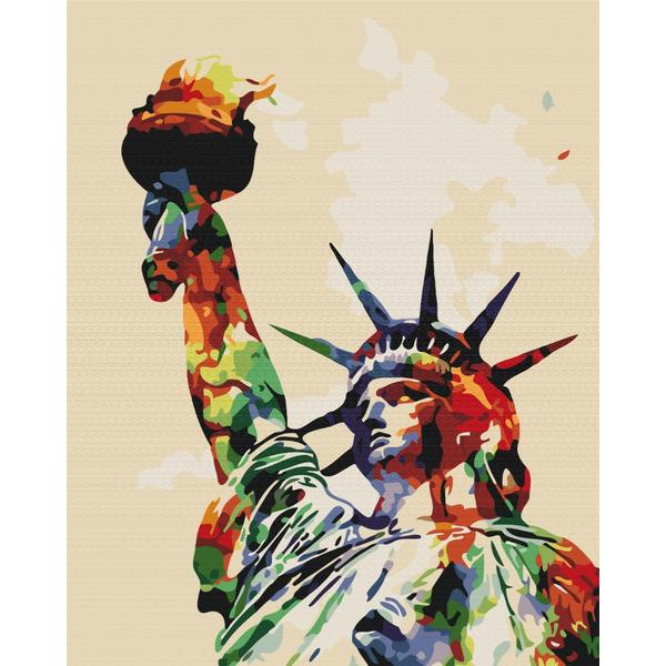 Картина по номерам Города - Фарби свободи