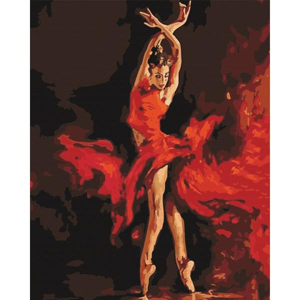 Картина по номерам Люди на картинах - У танці