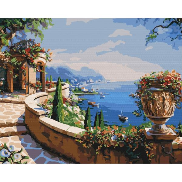 Картина по номерам Пейзажи - Вид на затоку