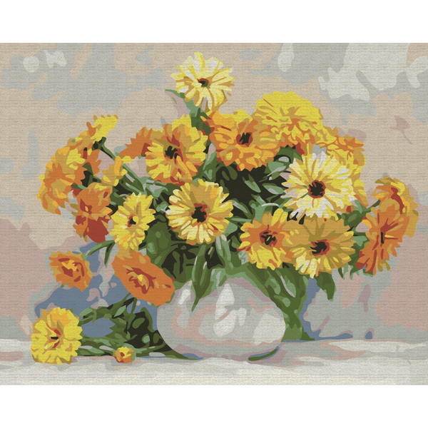 Картина по номерам Репродукции художников - Поэтика цветов. Игорь Бузин