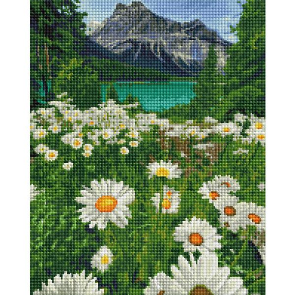 Алмазная мозаика 40х50 - Підніжжя гір