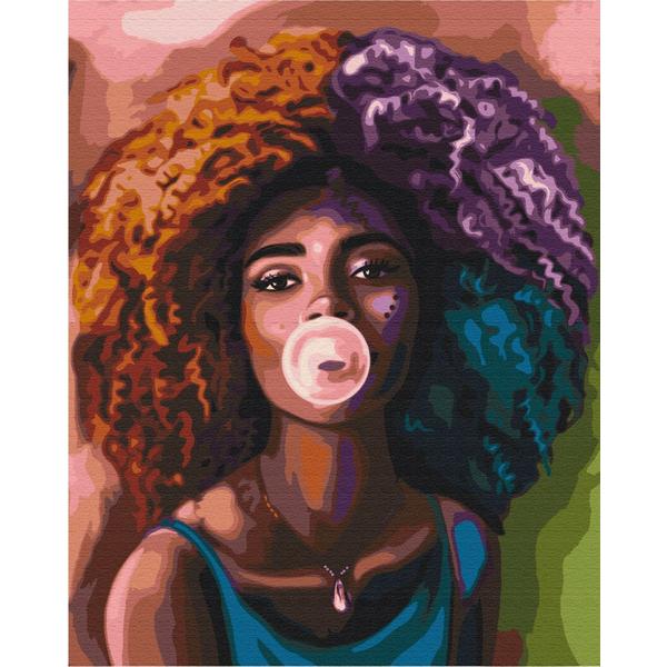 Картина по номерам Люди на картинах - В стиле хуба-буба