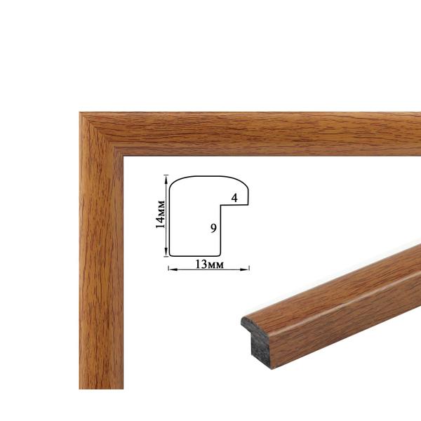 Багетные рамки - Багетная рамка (светлое дерево, 1 см) 40х50