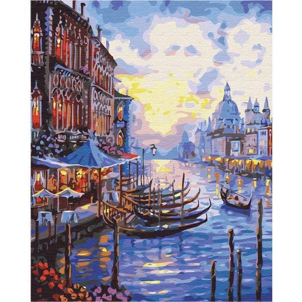 Картина по номерам Города - Прекрасна Венеція