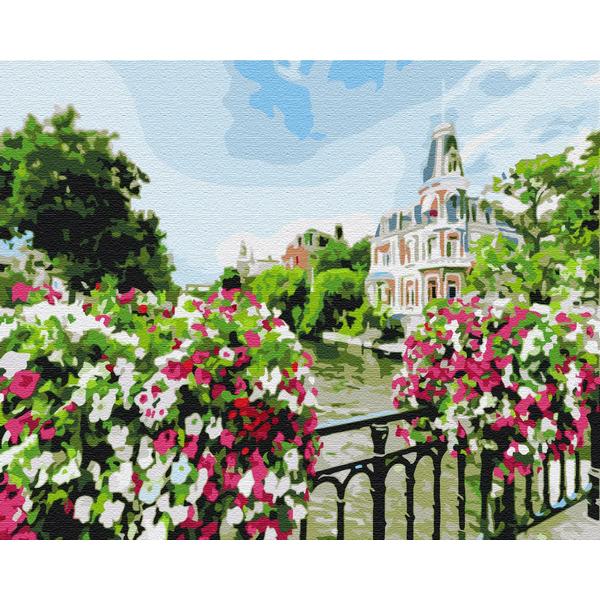 Картина по номерам Города - Город Амстердам