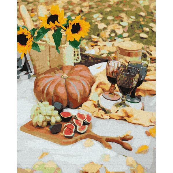 Картина по номерам Натюрморты - Осінній пікнік