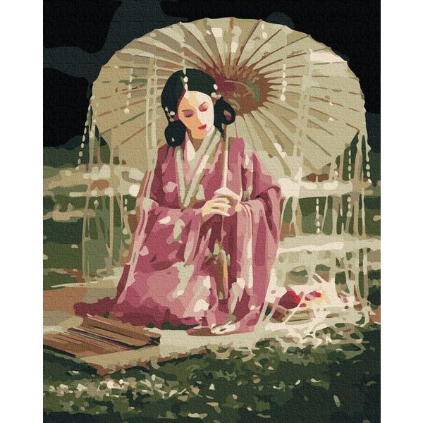 Картина по номерам Люди на картинах - Східна красуня