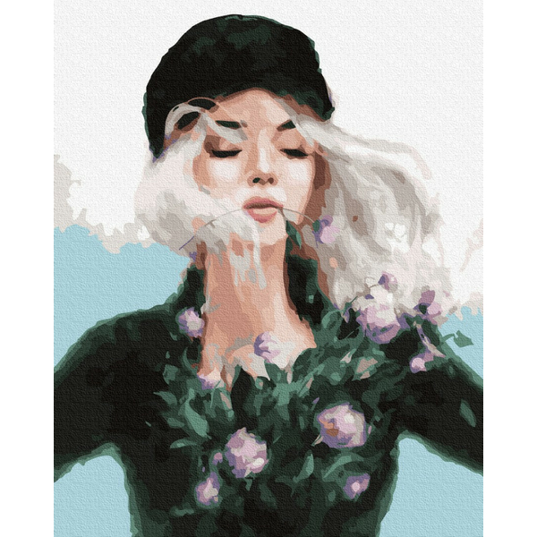 Картина по номерам Люди на картинах - Девушка-весна