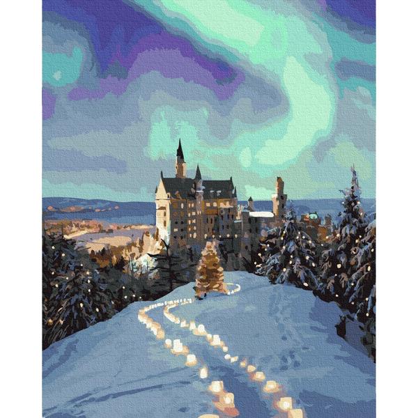 Картина по номерам Пейзажи - Казковий замок