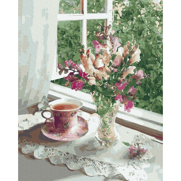 Картина по номерам Натюрморты - Ніжність літнього ранку