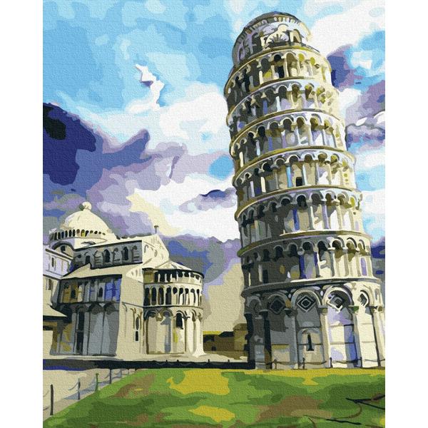 Картина по номерам Города - Пизанская башня
