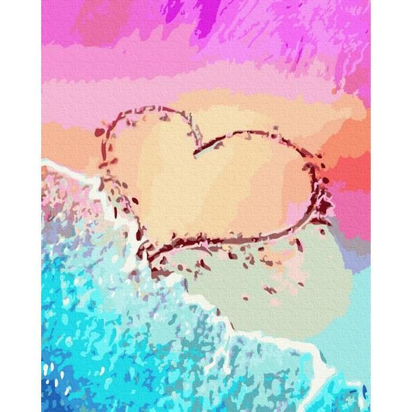 Картина по номерам Авторские коллекции - Любовь на побережье