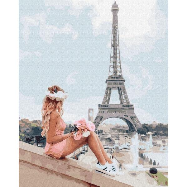 Картина по номерам Люди на картинах - Літом в Парижі