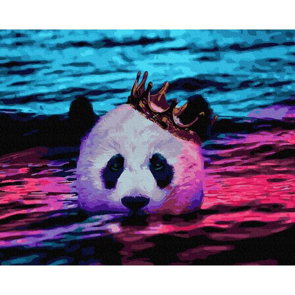 Картина по номерам Животные, птицы и рыбы - Королевская панда