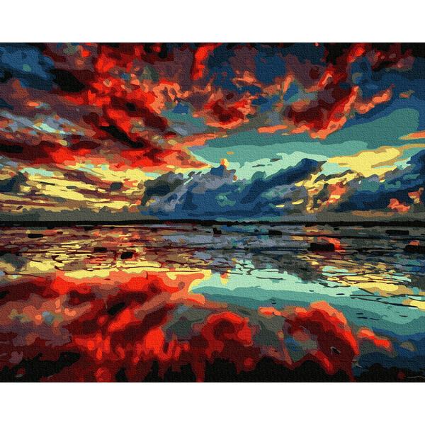 Картина по номерам Пейзажи - Фантастичне узбережжя