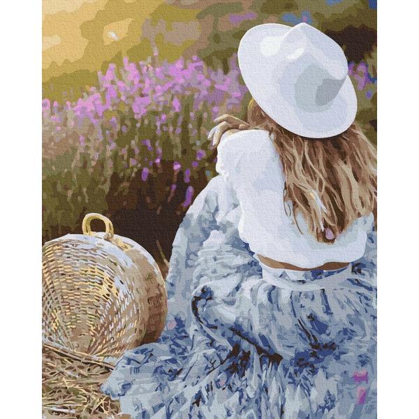 Картина по номерам ПРЕМИУМ картины - Любимая лаванда