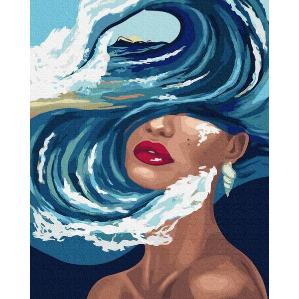 Картина по номерам ПРЕМИУМ картины - Океан мыслей