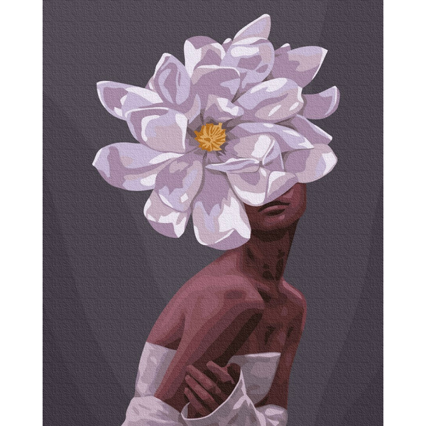 Картина по номерам ПРЕМИУМ картины - В обьятиях цветов