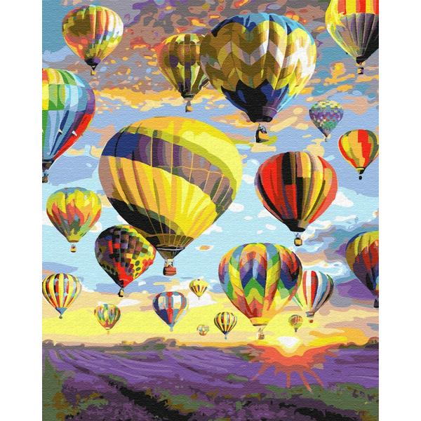 Картина по номерам ПРЕМИУМ картины - Мечты в небе