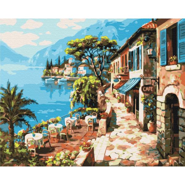 Картина по номерам Природа - Прогулка вдоль моря