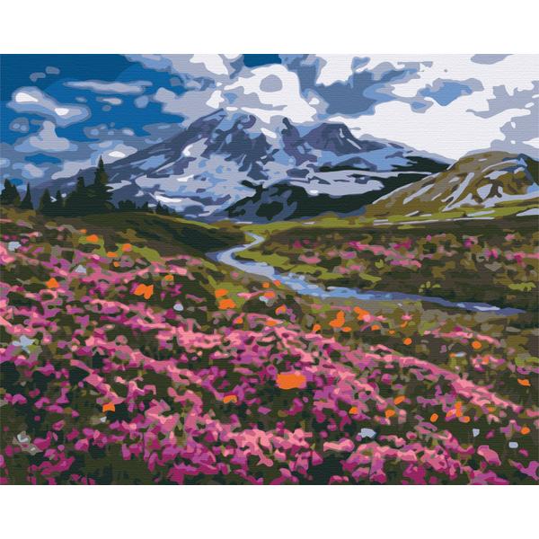 Картина по номерам Города - Альпійський луг