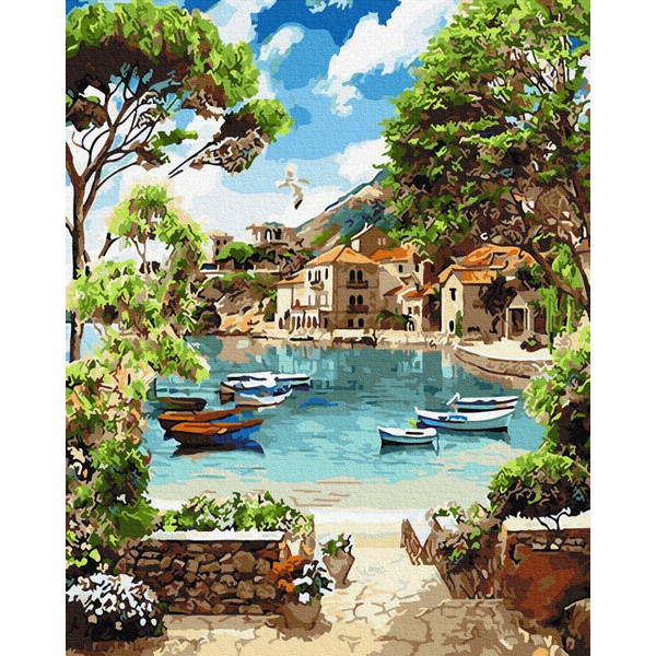 Картина по номерам Пейзажи - Лазурна затока