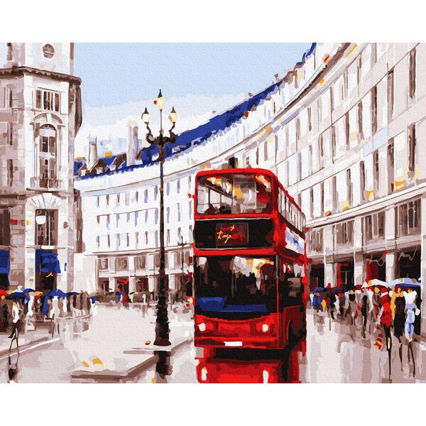 Картина по номерам Города - Лондонский маршрут