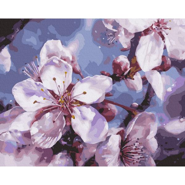Картина по номерам Цветы - Весняний цвіт