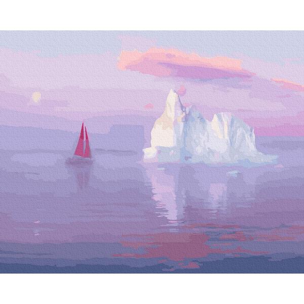 Картина по номерам Природа - Айсберг
