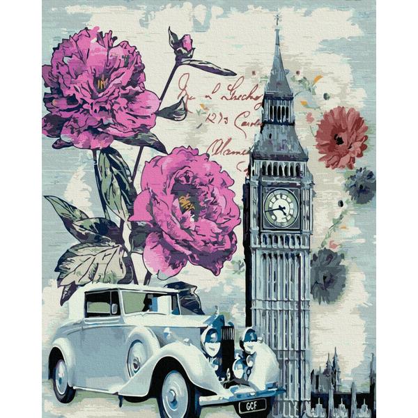 Картина по номерам Города - Вінтажний Лондон