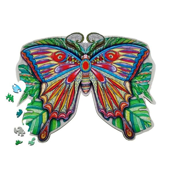 Деревянные пазлы - Метелик