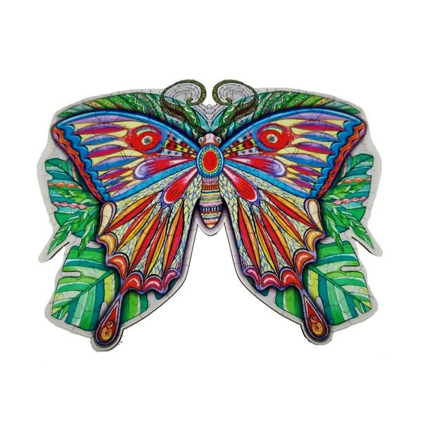 Деревянные пазлы - Бабочка