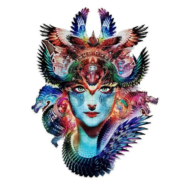 Деревянные пазлы - Дхарма дракон