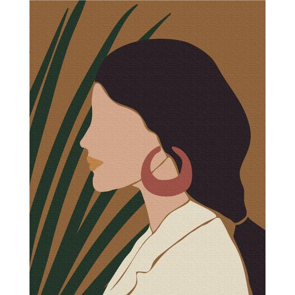 Картина по номерам Авторские коллекции - Пастельні тропіки: триптих 1