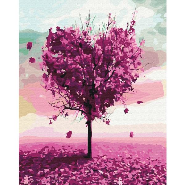 Картина по номерам Пейзажи - Дерево кохання