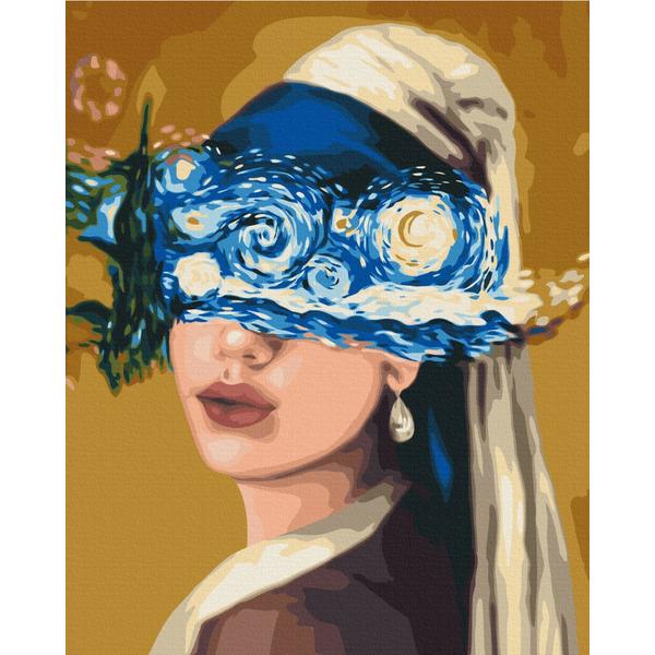 Картина по номерам Репродукции художников - Взгляд в звездную ночь