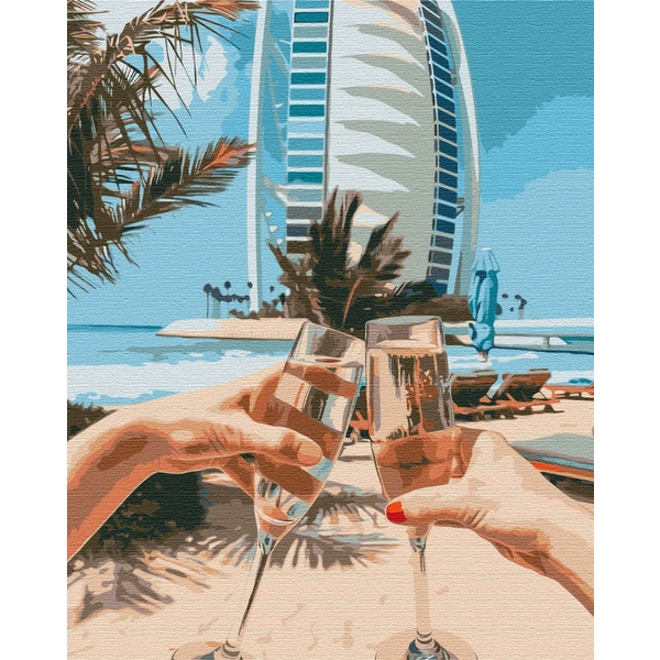 Картина по номерам Авторские коллекции - Дубай на двоих