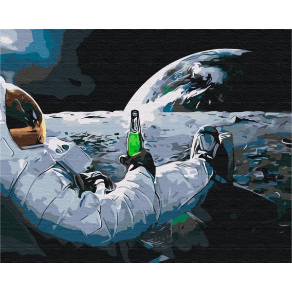 Картина по номерам Авторские коллекции - Релакс в космосе